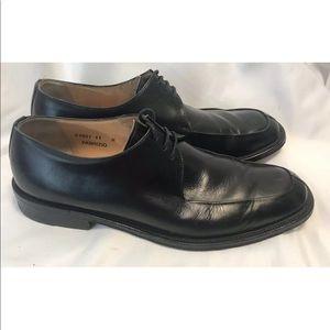 Bruno Magli Fabrizio 11M Black Oxford Dress Shoes